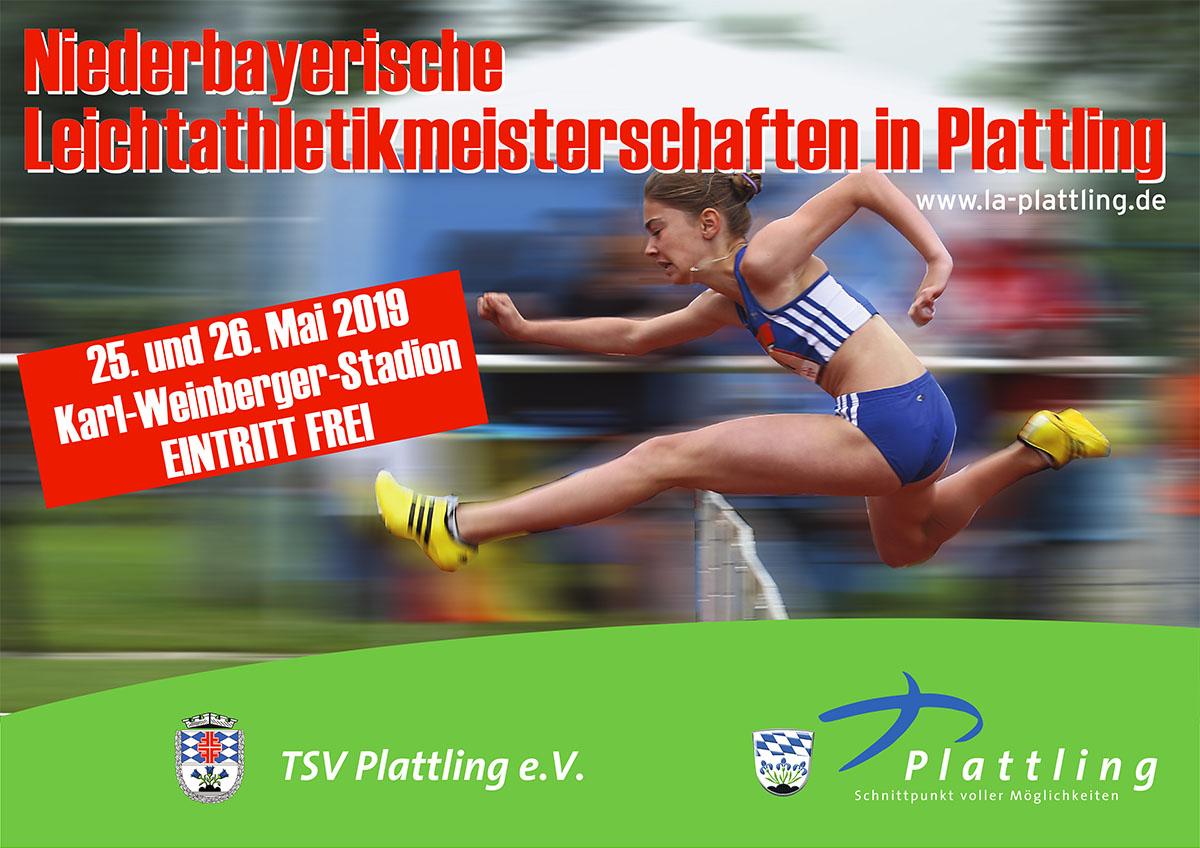 Niederbayerische Leichtathletikmeisterschaften in Plattling